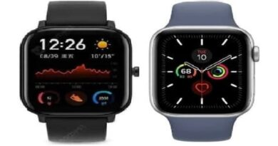 Amazfit gts vs apple watch series 5