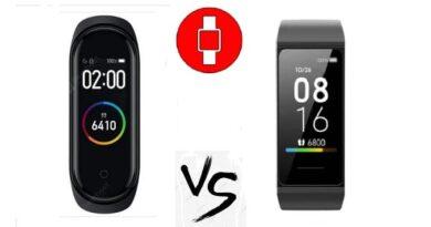 Xiaomi redmi band vs mi band 4