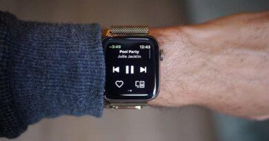 spotify en apple watch